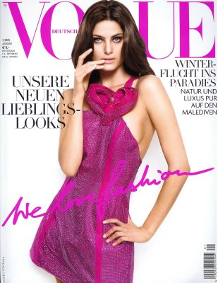 vogue alemania enero 09
