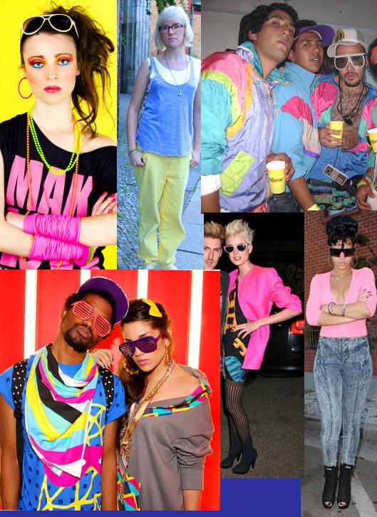 La moda fluor ochentera
