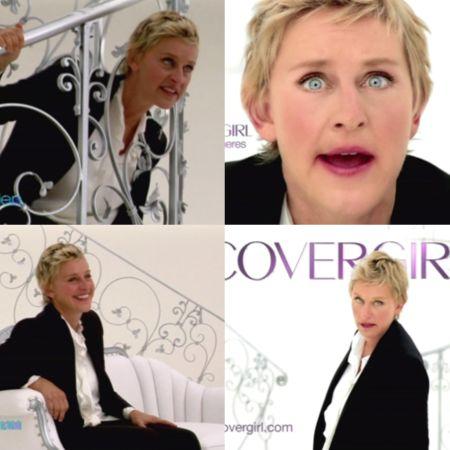 Ellen-DeGeneres-CoverGirl-commercial