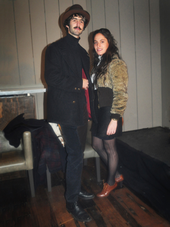 José Miguel Bacarreza y Sara Larraín