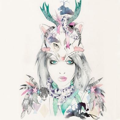 Hannah muller fashion illustrator 1