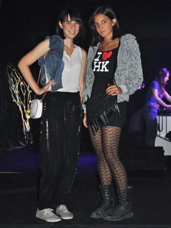 Trinidad Sánchez y Claudia Jadue