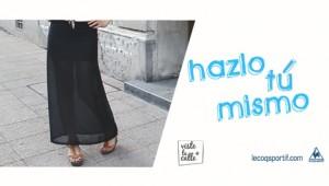 Hazlo tú Mismo: Falda maxi accesoria
