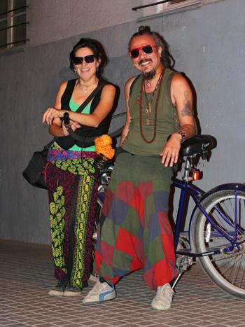 Ambar Rodríguez y Shiva Das