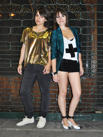 Daniela González y Cassandra Plonka