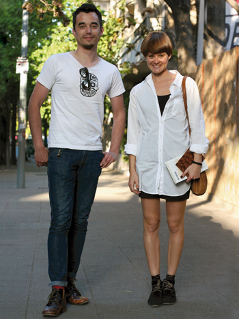 Christian Neumann y Natalia Fuentes