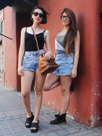 Leslie Gutierres y Camila Mendoza