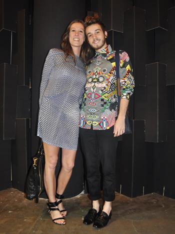 Lisa Lauder y Victor da Justa