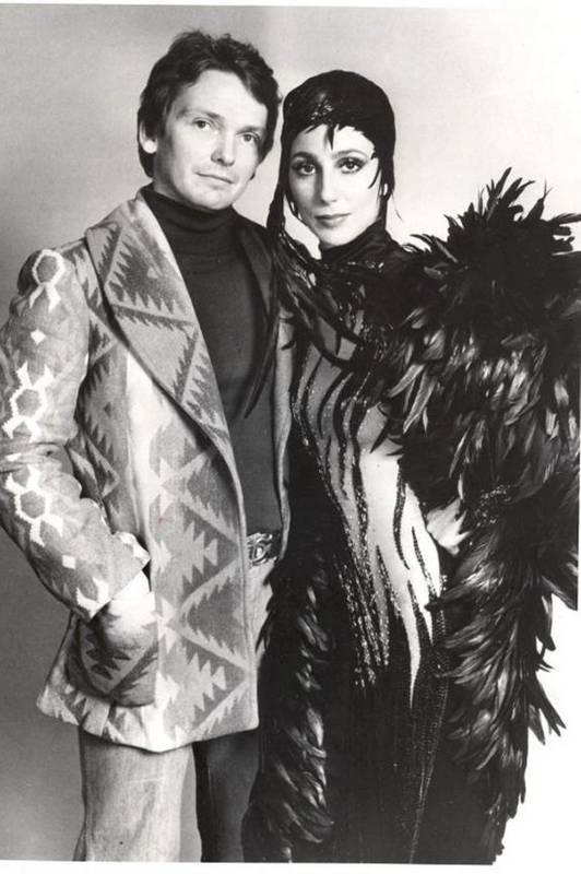 Bob Mackie y Cher
