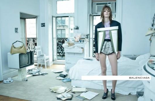 Campaña Balenciaga, estilismo a cargo de Sauvé