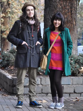 Pablo Orellana y Carla Anais