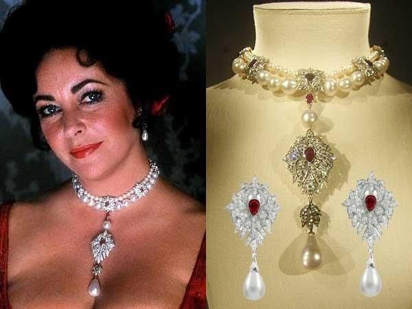 Elizabeth Taylor Imitation Jewelry Las Joyas De Elizabeth