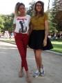 Carolina Aliste y Afaf Aguad