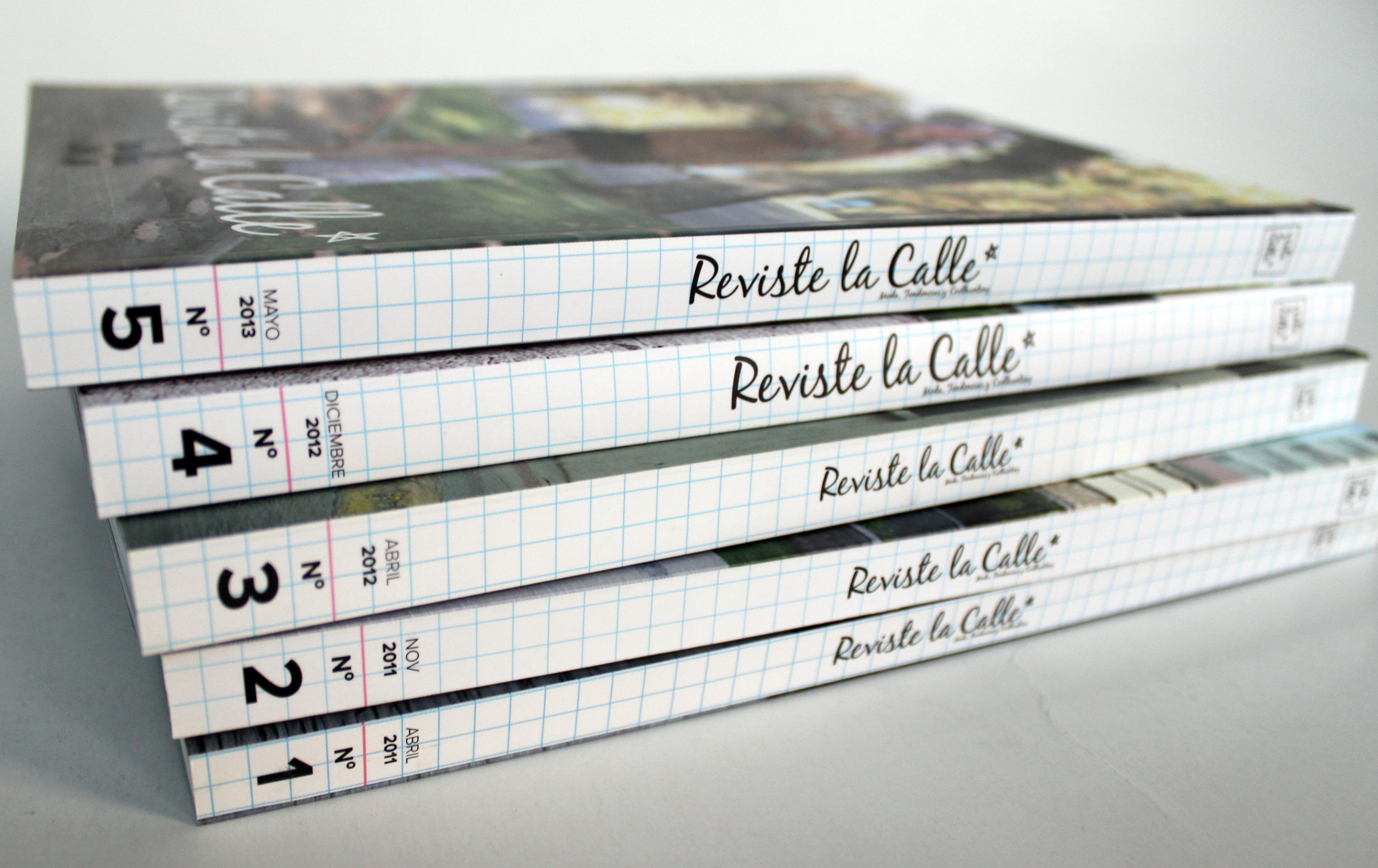 ¡Consigue tu colección completa de RevisteLaCalle!