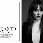 Editoriales de Moda: Encanto Fatal