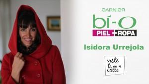 Garnier Bío Piel + Ropa: Isidora Urrejola