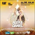 ¡Gana entradas para Cat Editions #2 Alex & Daniel en vivo!