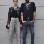 Gisele Luna y Claudio Arditti