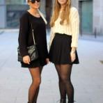 Nicole Pudas y Caroline Petersson