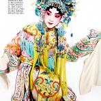 Actores del Teatro de Ópera China por Mario Testino, 2013