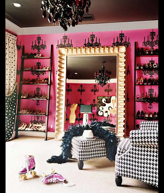 Los m s impresionantes armarios de las celebrities viste - Armarios de lujo ...