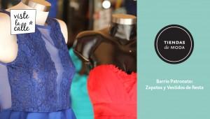 Tiendas de Moda: Ropa y zapatos de fiesta en Patronato