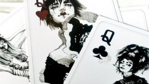 VLC ♥ Fashion Playing Cards by Connie Lim
