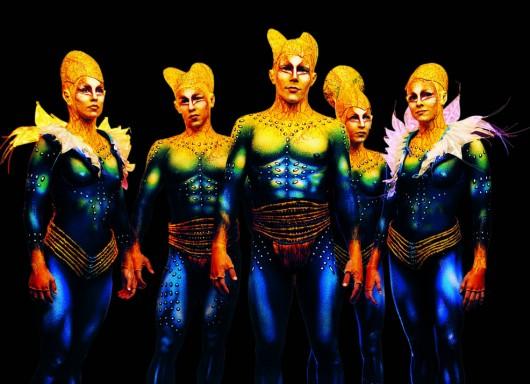 El gigantesco mundo detrás de los vestuarios del Cirque du Soleil ...