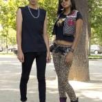 Alexis Sandoval y Angela Valdebenito