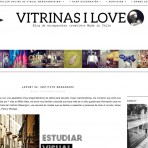 Vitrinas I Love, el primer blog chileno sobre escaparates