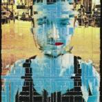 Obras de arte a partir de retazos de tela: El inusual camino del artista Tully Satre