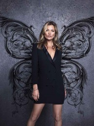"""Fly Collection"": La campaña de Basement que trae nuevamente a Kate Moss a Chile"