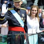 El vestuario de la ceremonia de proclamación de los nuevos Reyes de España