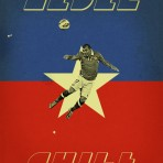 "Ilustraciones mundialeras: Los afiches de Jon Rogers y su proyecto ""World Cup 2014: Each Country's Fan Favorite"""