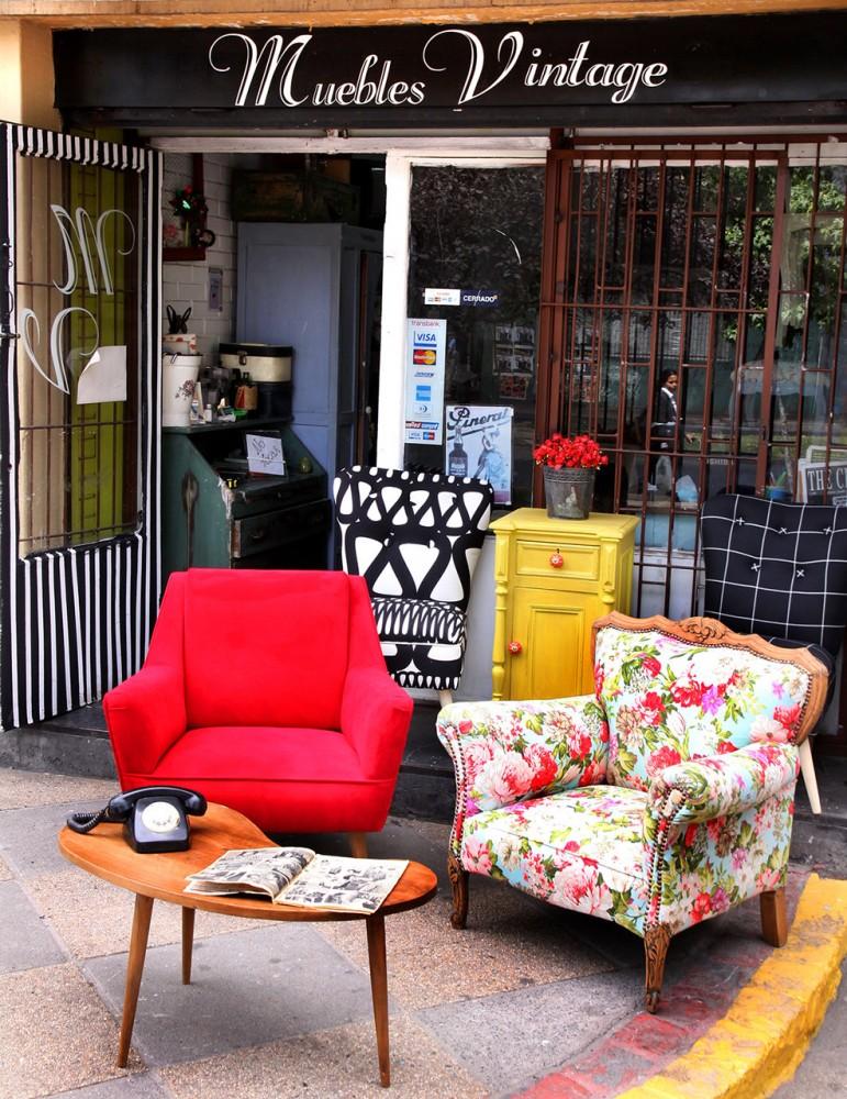 Las tiendas de decoraci n de vistelaciudad viste la calle Muebles de diseno vintage