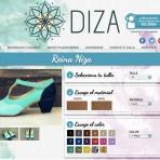 Diza, la plataforma virtual chilena para diseñar tus zapatos