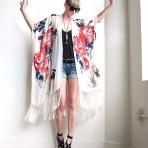 Kimono Boho: la prenda básica de la próxima primavera