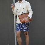 Shorts con personalidad para hombres, tendencia masculina para el próximo verano