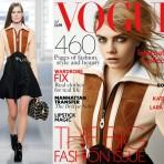 La colección Louis Vuitton de Ghesquière se toma las portadas de septiembre