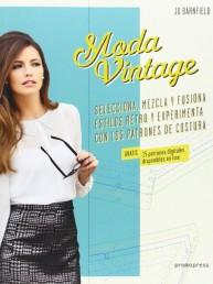 Libros de Moda: Historia y patrones en Moda Vintage por Jo Barnfield