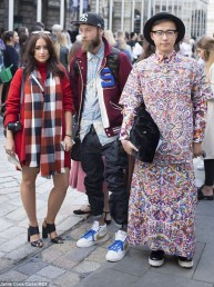 El mejor Street Style del London Fashion Week