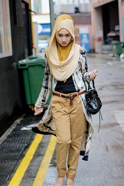 Hijabistas Mujeres Musulmanas Que Logran Combinar Tradici N Con Moda Viste La Calle