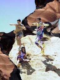 Explosión de colores en la colección Primavera-Verano 2014 de Julian Zigerli