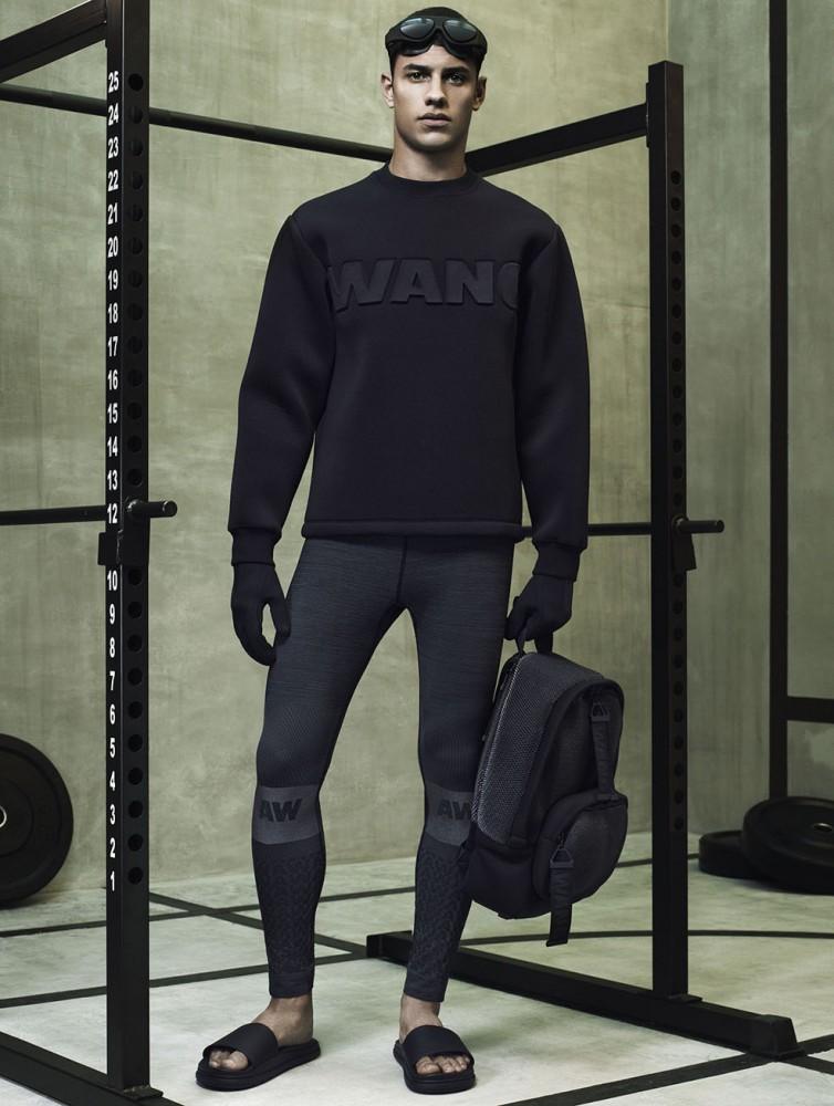Los detalles de la colección masculina de ALEXANDER WANG x