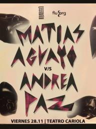 Concurso: ¡Gana entradas para la fiesta de Matías Aguayo en Teatro Cariola!