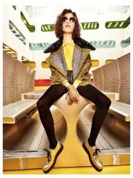 Mica Arganaraz, la modelo argentina que triunfa