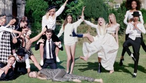 VLC ♥ The shooting party – Cara Delevingne by Kate Moss and Tim Walker