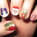 Tutoriales: ¡Uñas para Navidad!