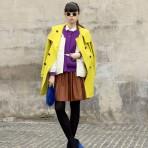 Leaf Greener: el colorido y entretenido estilo de una editora de modas en Shangai