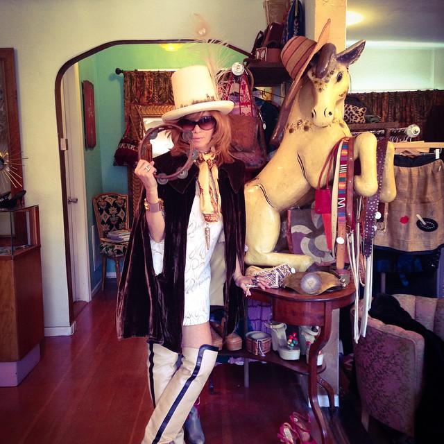 Linda Ramone, una reina punk (y vintage)